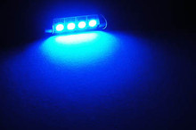 LED tipo festoon Azul