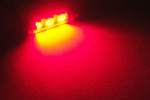LED tipo festoon Rojo