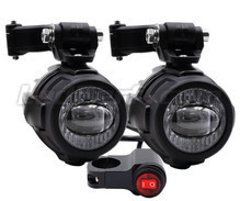 Luces LED antiniebla y largo alcance para Suzuki Kingquad 500