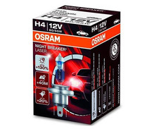 Bombilla H4 Osram Night Breaker Laser + 130 %