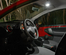 Pack interior luxe Full LED (blanco puro) para Peugeot 107