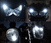 Pack luces de posición de LED (blanco xenón) para Harley-Davidson Road King 1340