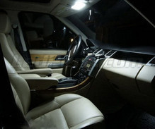 Pack interior luxe Full LED (blanco puro) para Range Rover L322 Vogue y HSE