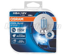 Pack de 2 bombillas HB4 Osram Cool Blue Intense - 9006CBI-HCB