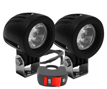 Faros adicionales de LED para Triumph Speed Twin 1200 - Largo alcance