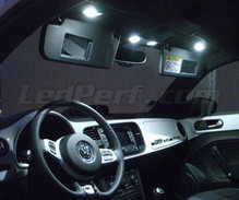 Pack interior luxe Full LED (blanco puro) para Volkswagen New beetle (Escarabajo) 2012