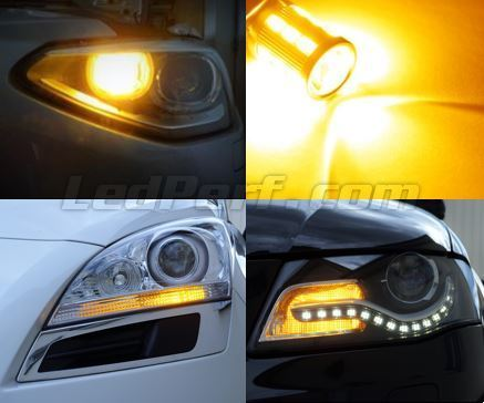 Pack de intermitentes delanteros de LED para Seat Leon 2 (1P) / Altea