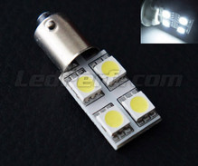 LED H6W - Casquillo BAX9S - Blanco Rotation