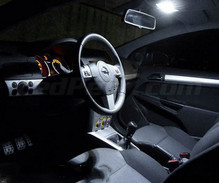 Pack interior luxe Full LED (blanco puro) para Opel Astra H TwinTop
