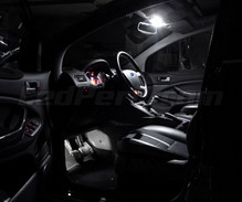 Pack interior luxe Full LED (blanco puro) para Ford Kuga
