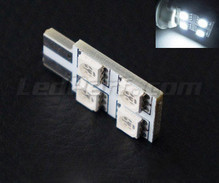 LED T10 Rotation de 4 LEDs HP - Iluminación lateral - Blanca W5W