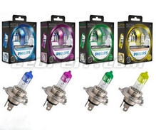 Pack de 2 bombillas H4 Philips ColorVision